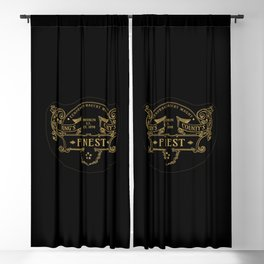 Brooklyn King`s County`s Finest Shield Blackout Curtain