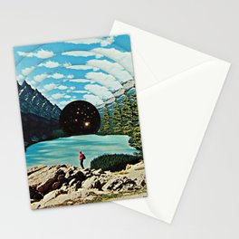 Life is an illusion Stationery Cards