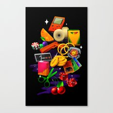 BORN 88 Canvas Print