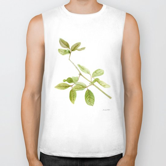 A branch of the tree Psidium fortium Biker Tank