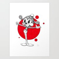 Pop Artoons Nr.3 Art Print