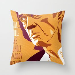 Quentin Tarantino's Plot Movers :: Kill Bill Throw Pillow
