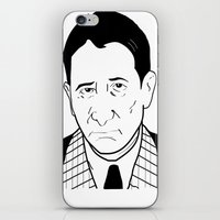 childish gambino iPhone & iPod Skins featuring Carlo 'The Don' Gambino by Danny Abbott
