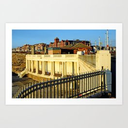 Lower Promenade, Gynn - Blackpool Art Print