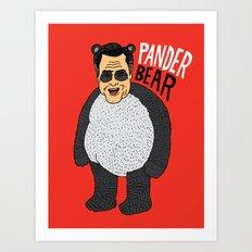 Romney's Halloween Costume Art Print