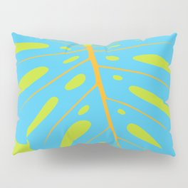 Tropical Leaf - Monstera Pillow Sham