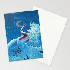 Sky Swimming Stationery Cards