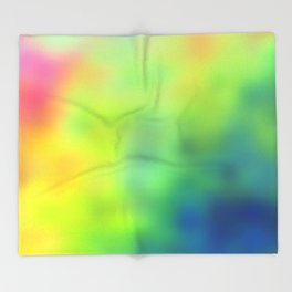 Tye Dye Throw Blanket