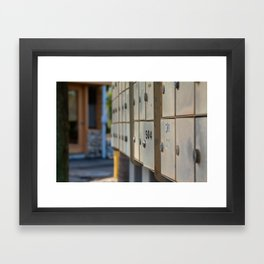 Tenant 504 Framed Art Print