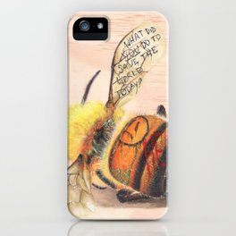 TAGGED(in color): Honey Bee iPhone Case