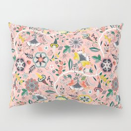 BOHO Chintz (Coral Pink) Pillow Sham