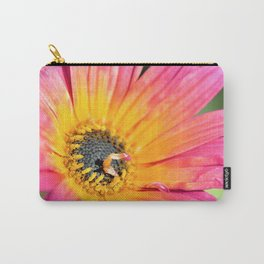 Beautiful Pink Imperfection Flower  by Reay of Light Photography Carry-All Pouch
