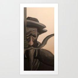 Don Quixote (cover) Art Print