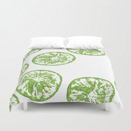 Lotta Limes Duvet Cover