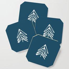 Pacific Northwest Evergreen   In Indigo Coaster
