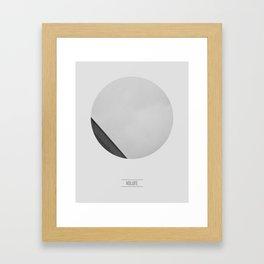 VOLUTE Framed Art Print