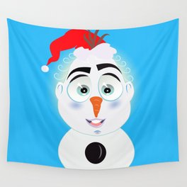 Lolo AlfsToys wants to become in Olaf Wall Tapestry