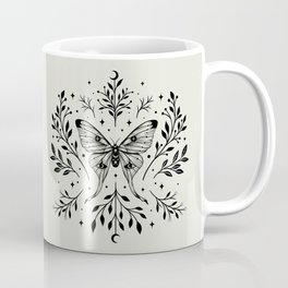 Mystical Luna Moth Coffee Mug