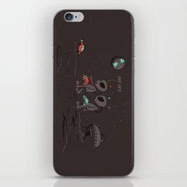 Uh UFO! iPhone Skin