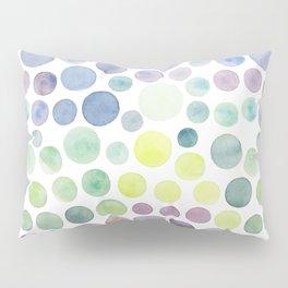Dots purple and green Pillow Sham