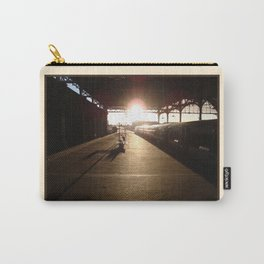London Bridge Station - The Winter Sun Carry-All Pouch