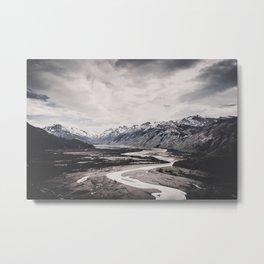 Andes and Patagonia Metal Print
