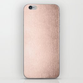 Moon Dust Rose Gold iPhone Skin