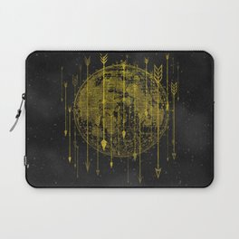Golden Arrows Sing Laptop Sleeve