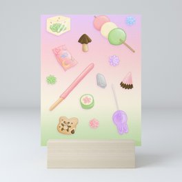 Weeaboo Candy Mini Art Print