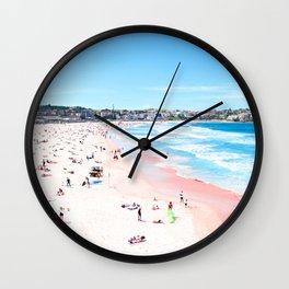 Bondi Beach Fine Art Wall Clock