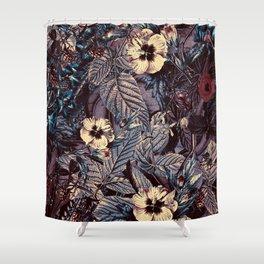 dark flowers #flower #flowers Shower Curtain