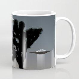 Joshua Tree Space Invasion by C.Reyes Coffee Mug