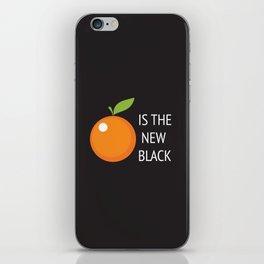 The New Black iPhone Skin