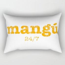 Mangú a cualquier hora Rectangular Pillow