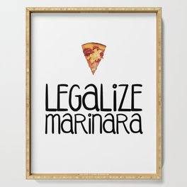 Legalize Marinara Serving Tray