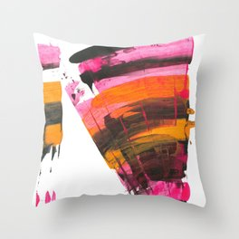 Raincoat Throw Pillow