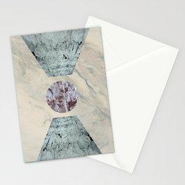 Framed marble Stationery Cards