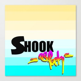 Shook AF Canvas Print