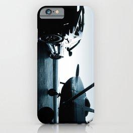 Twilight at the Hangar iPhone Case