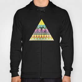 Pyramid in Space. Hoody