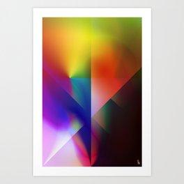 Aura Shield Art Print