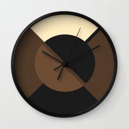 Circle Circle Septia Wall Clock