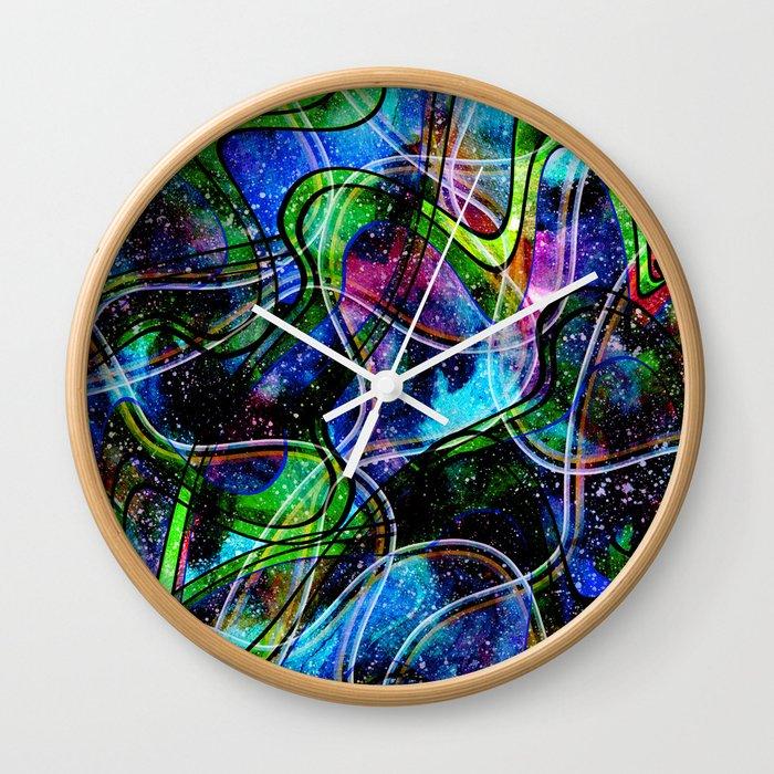 Bright abstraction .6 Wall Clock