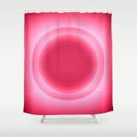 bubblegum Shower Curtains featuring Bubblegum by SimplyChic