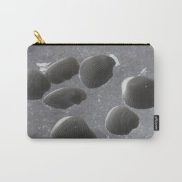 Like Dark Marble Carry-All Pouch