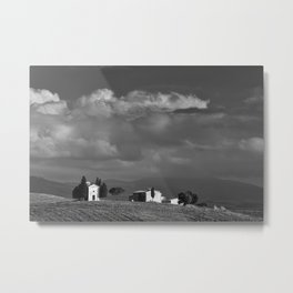 Vitaleta chapel, Tuscany Metal Print