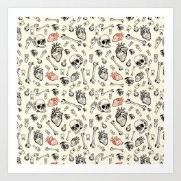 Grunge Pattern by Javi Codina Art Print