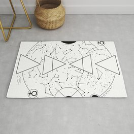 Celestial Alchemical Earth Rug