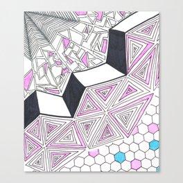 Geometric Design Canvas Print