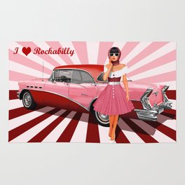I love Rockabilly Rug